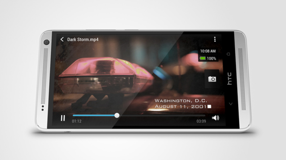 HTC One Max:5.9インチに大きくなったHTC One、指紋スキャナも搭載