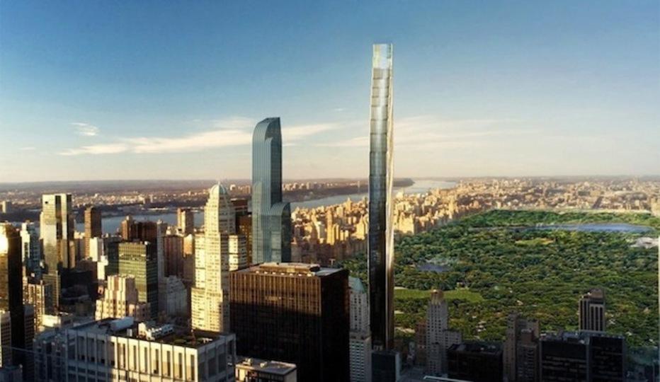 ニューヨークに世界一細長い建物が建設される予定