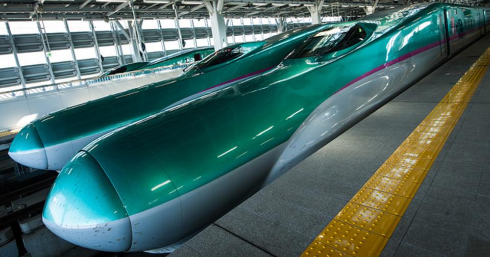 昔に比べると快適になったなぁ。東北新幹線でiPhoneの速度を見てみた