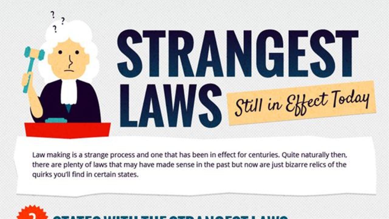 アメリカは変な法律の宝庫だね