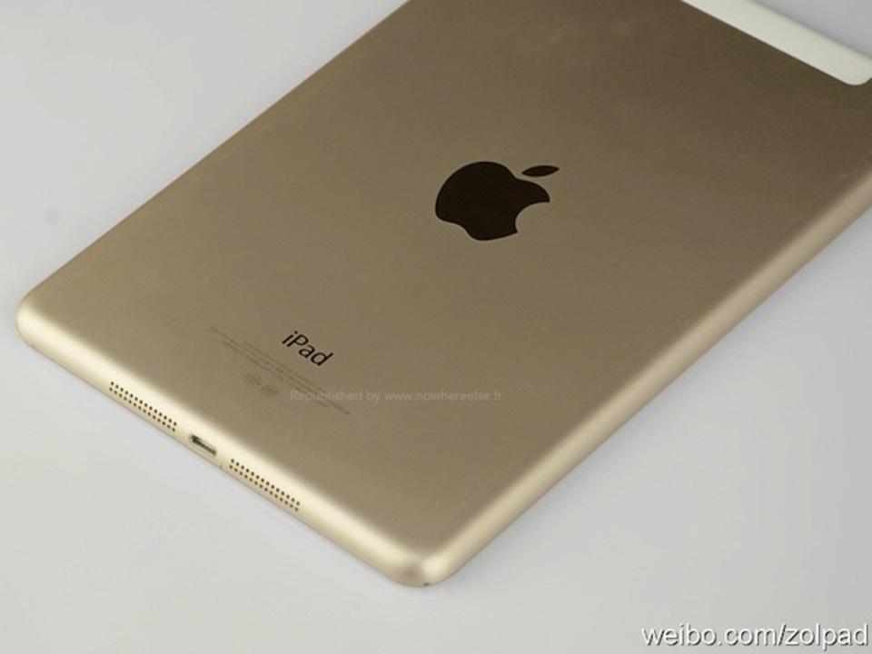 これ本物? 発表直前の新型iPad miniのゴールドカラーの新たな高解像度写真が大量流出?(ギャラリーあり)