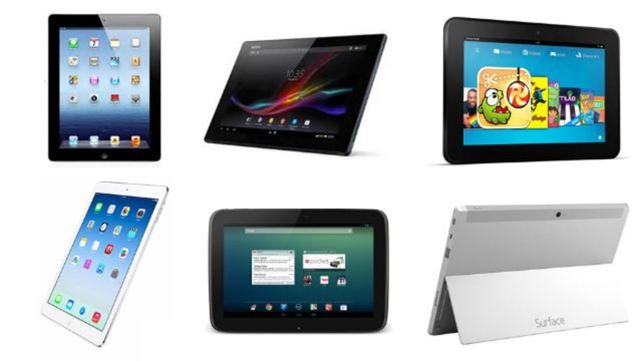 iPad Air、競合タブレットとスペック徹底比較