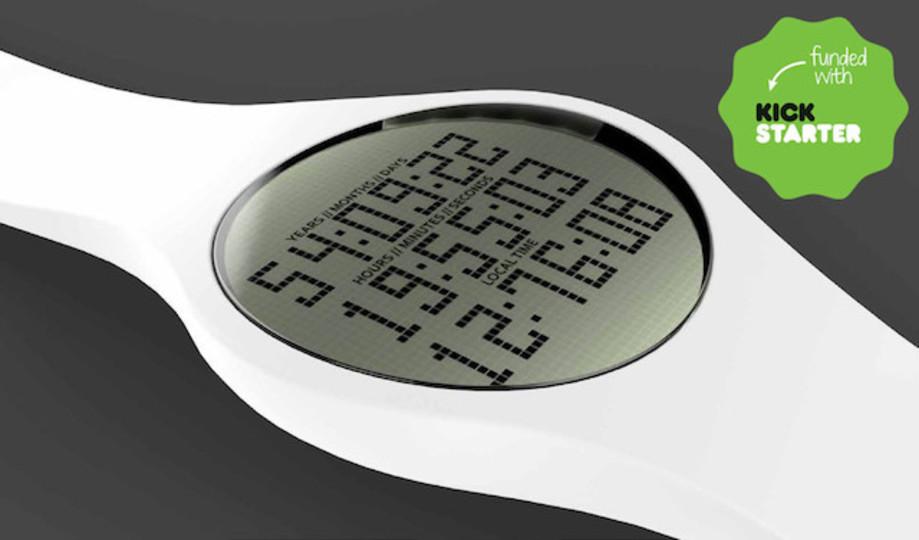 死ぬまでに残された時間を表示してくれる腕時計「Tikker」(動画あり)
