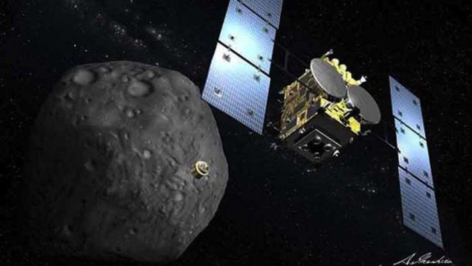 はやぶさ2、小惑星表面にクレーターを作る装置の実験に成功(動画あり)