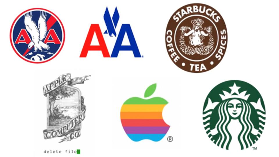 シンプルイズベスト? 有名企業ロゴの移り変わり