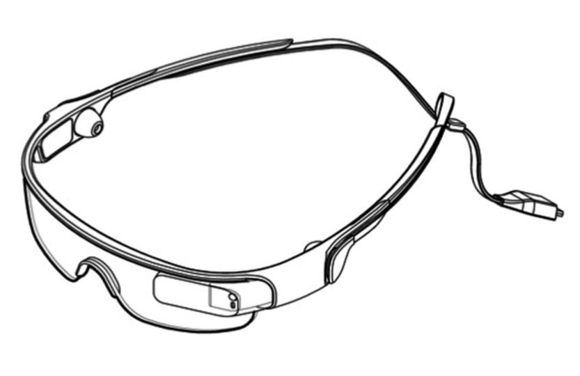 サムスンがGoogle Glass風デバイスの特許を出願、外観も判明