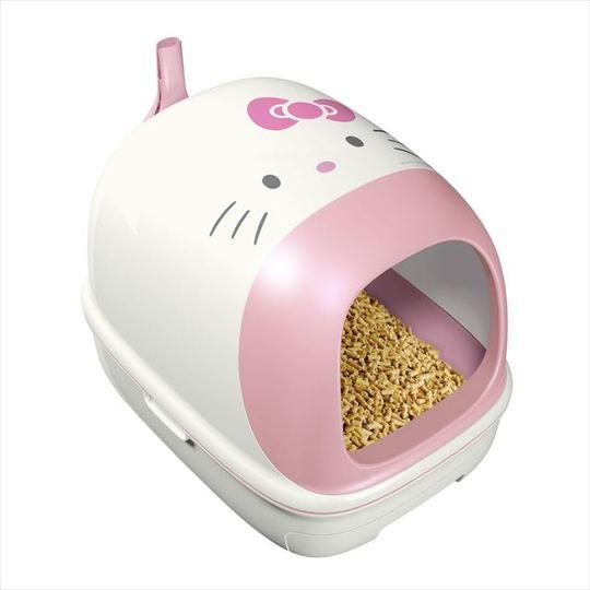 キティせんぱい、次の職場は猫用システムトイレ