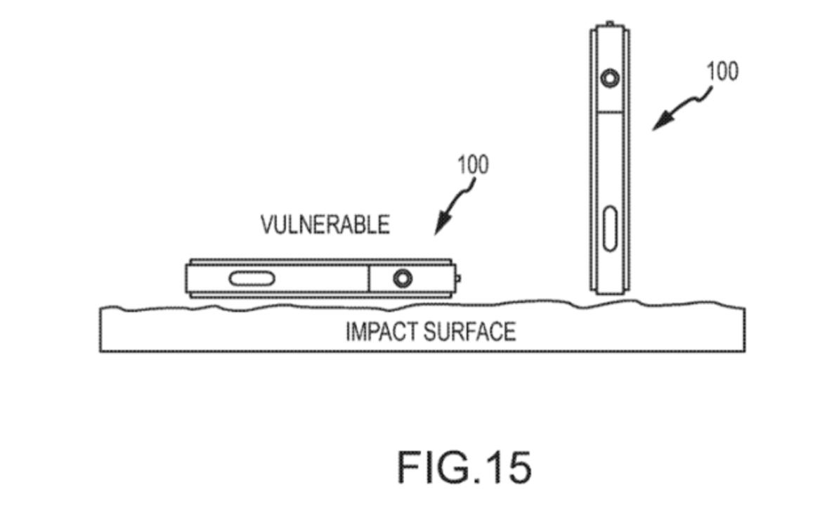 もうiPhone、割れない? アップルがiPhone落下時の姿勢を制御する特許を申請