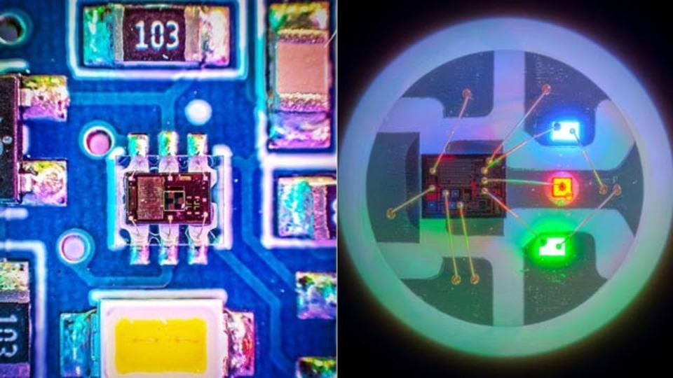 電子部品のマクロ写真、小さな小さなギークな世界(ミニギャラリーあり)