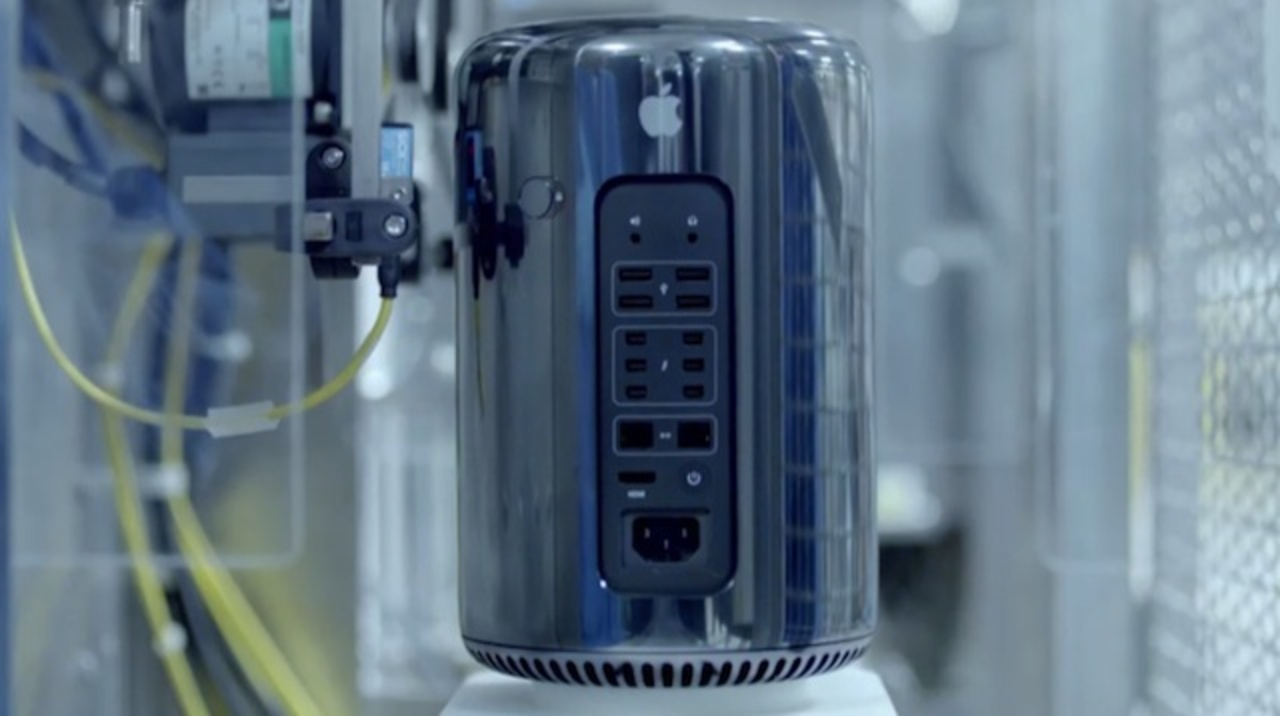 今日一番の感動かも。新Mac Proが製造される様子を動画でご覧ください