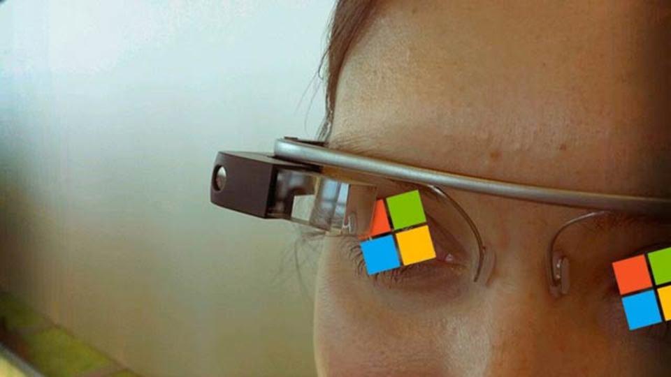 マイクロソフトがグーグルグラスみたいなやつを開発中