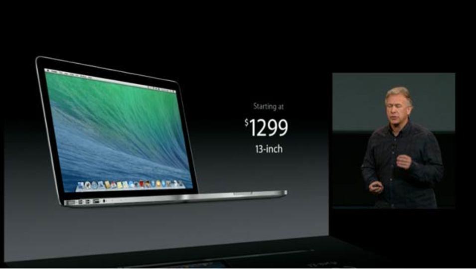新MacBook Pro、2013年モデルはスペックが大きく向上