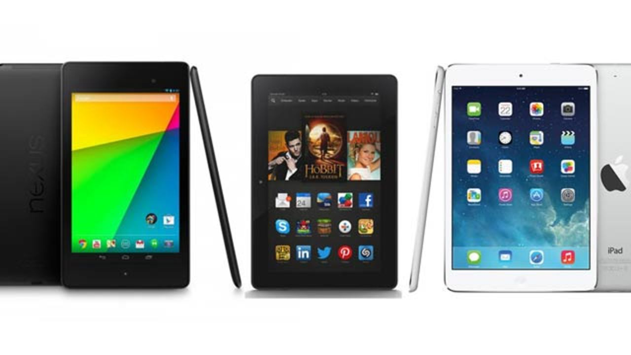 Retina搭載の新iPad mini、ライバル端末とのスペック比較