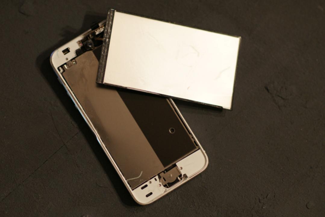iPhone 5s買って14日目で大破。クラッシュiPhoneカッコよすぎ自慢ものだわ