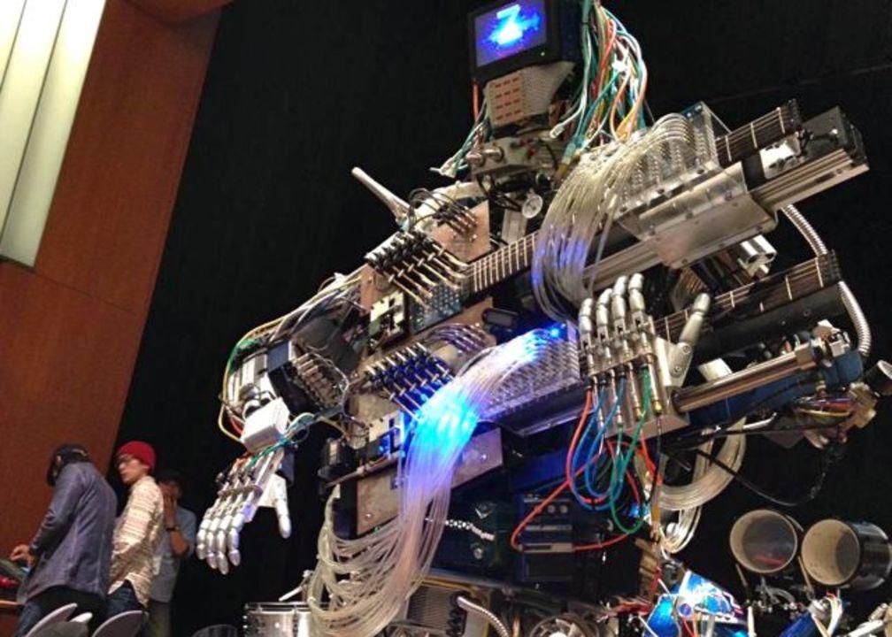 【 #mft2013 】エモ感やばい! ギターを弾きます、ヘドバンします、100%ロボットバンド Z-MACHINES(動画あり)