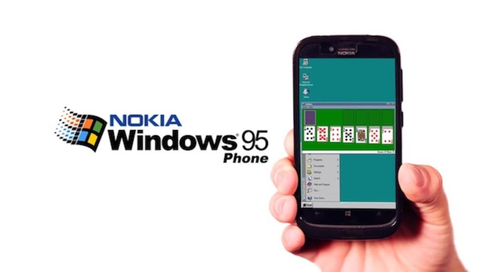 懐かしい! ノキアからWindows 95を完璧に再現したスマートフォン(動画あり)