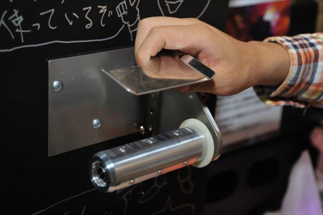 【 #mft2013 】音がしない=エネルギーロスの少ないトイレットペーパーホルダー(動画あり)