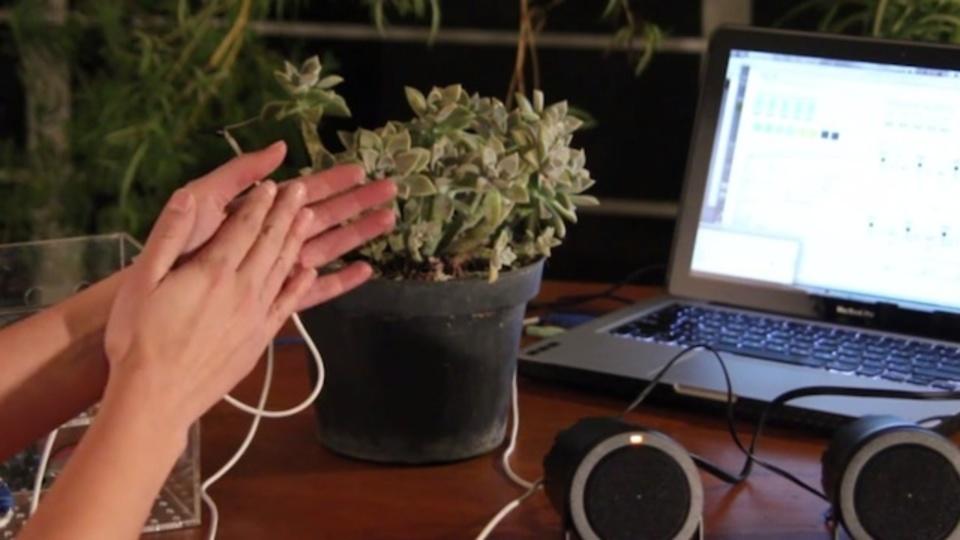 植物とコミュニケーションできる、SFチックな装置が登場(動画あり)