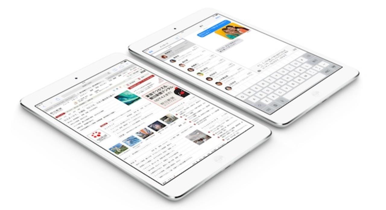 セルラーモデルは明日! KDDIとソフトバンクがiPad mini Retinaを14日に発売