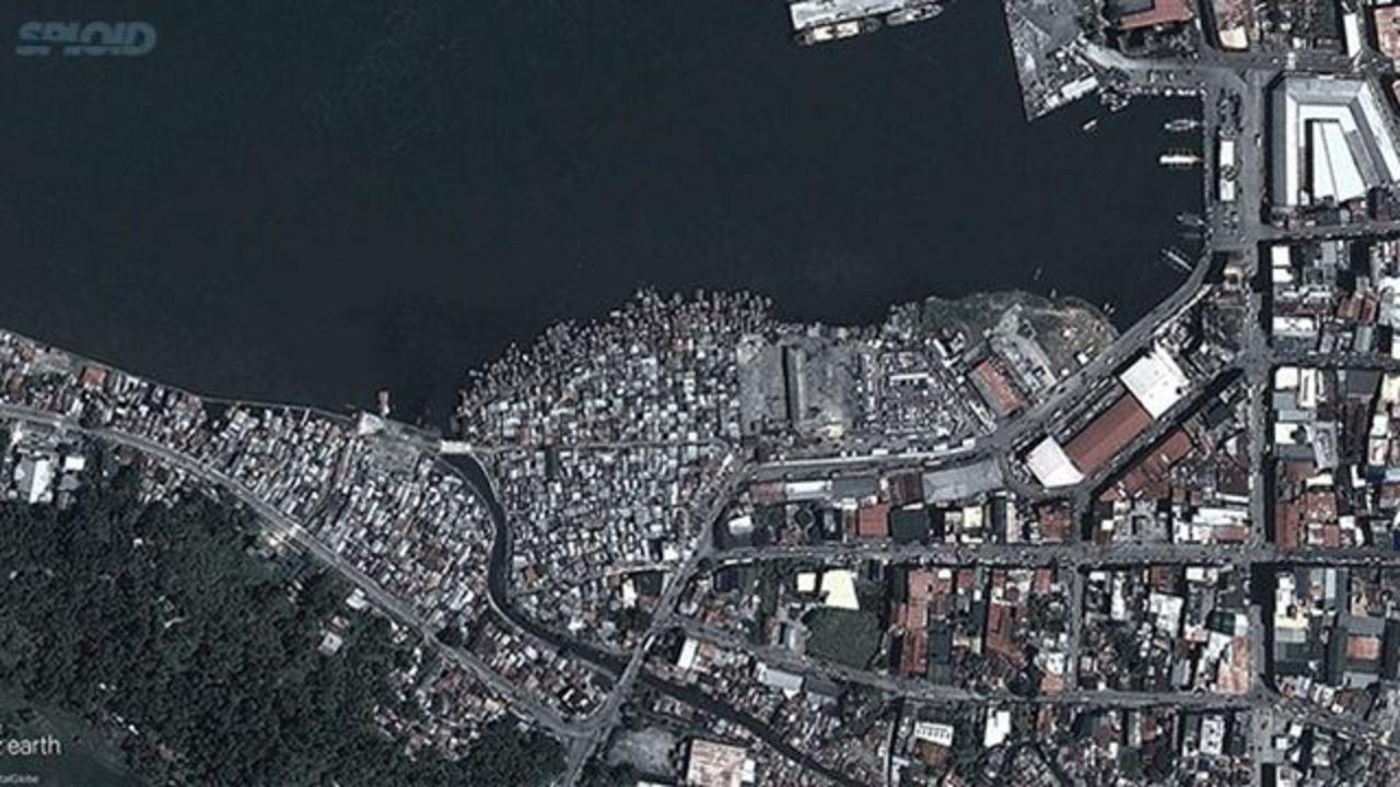 フィリピン台風BEFORE&AFTER写真
