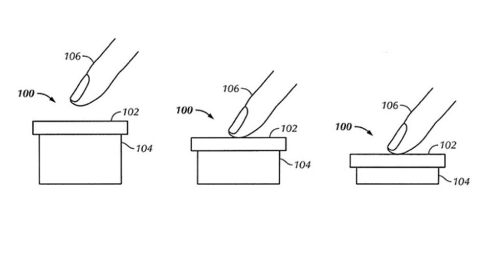 アップル、画面を押す力の強弱でデバイスの動作を変える新特許取得