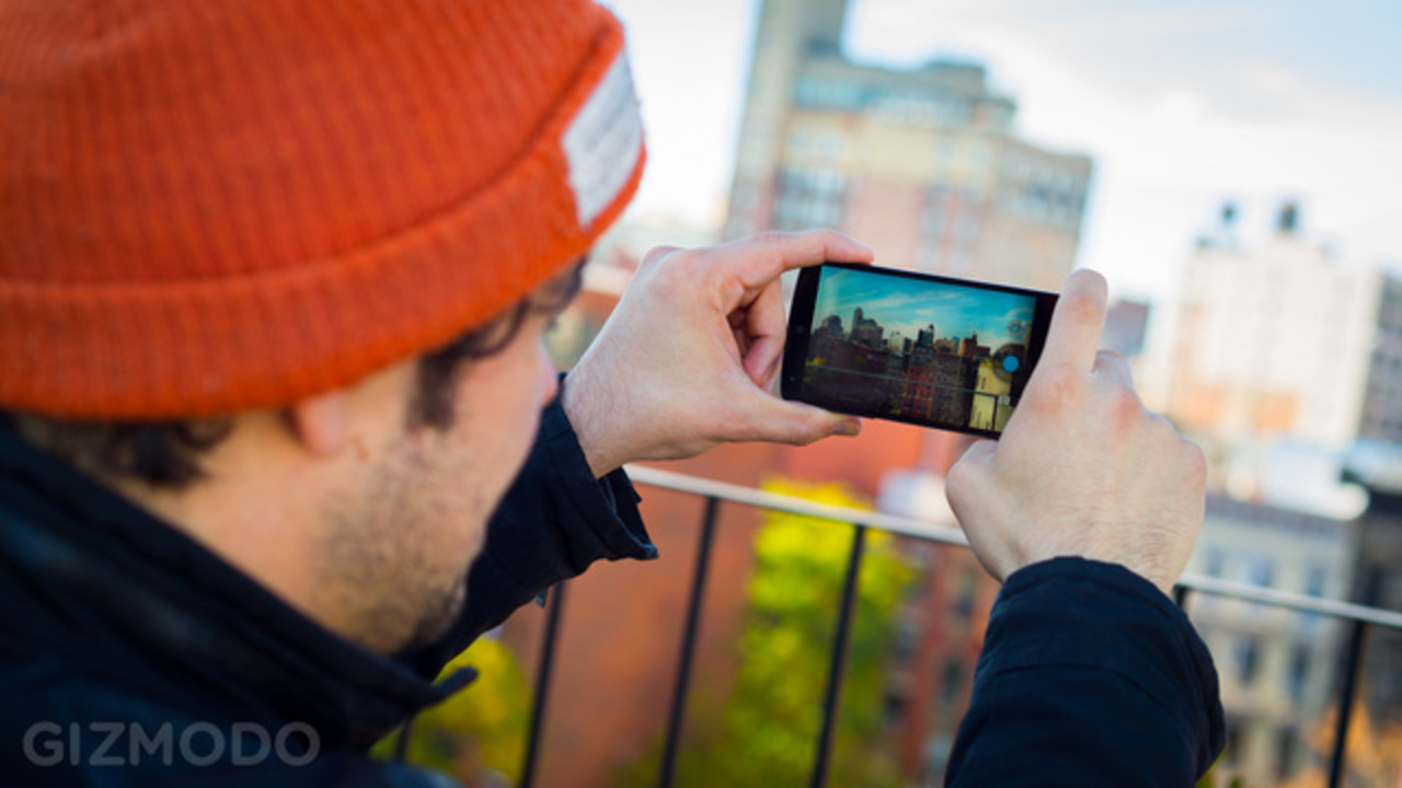 Nexus 5、競合スマホとカメラ対決させてみた