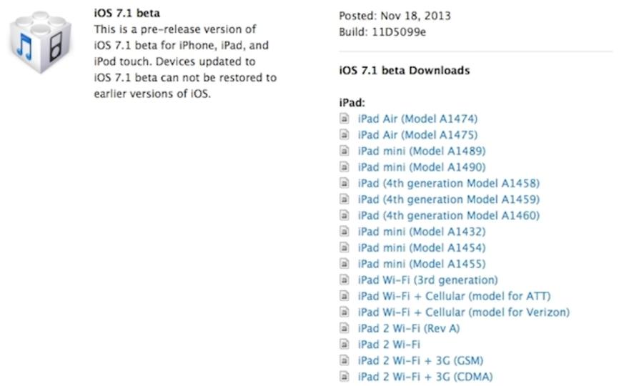 iOS 7.1 ベータ版の配布が開始。 自動HDRやキーボード色固定、バーストモードの全写真アップロードが追加