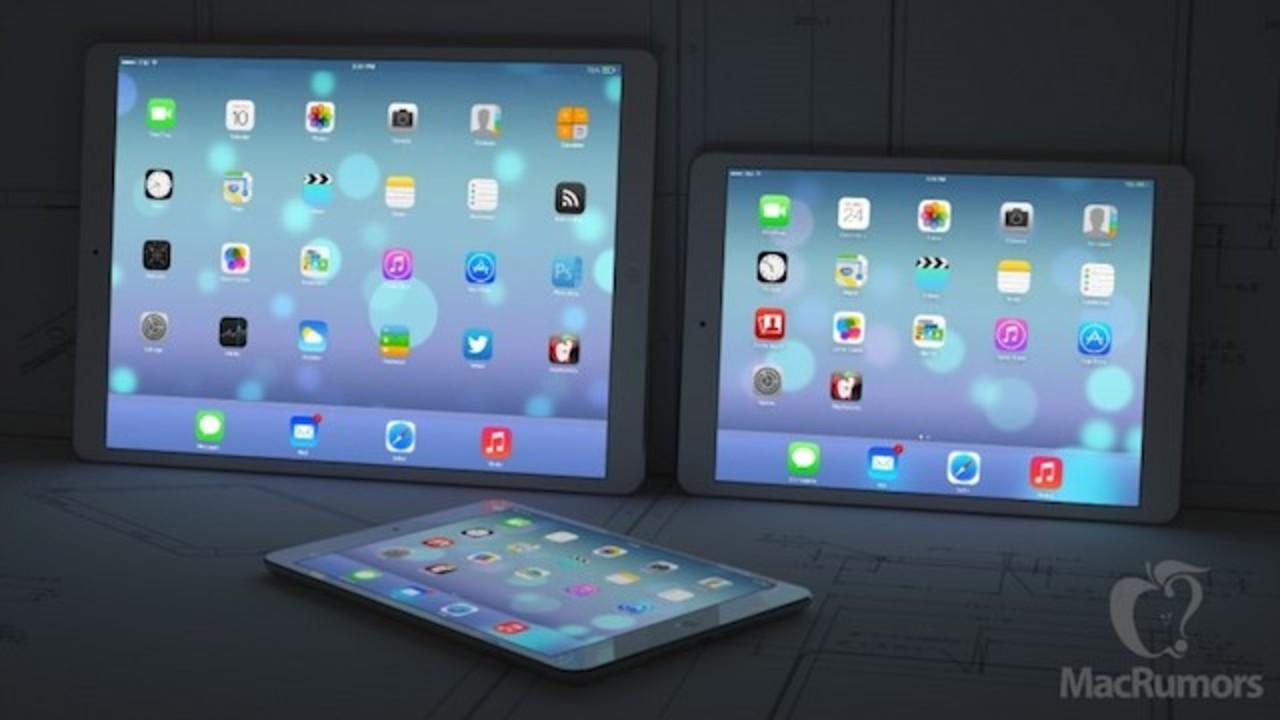 アップルの大型iPadは12.9インチ・ほぼ4K解像度ディスプレイを搭載し、来年早々に登場?