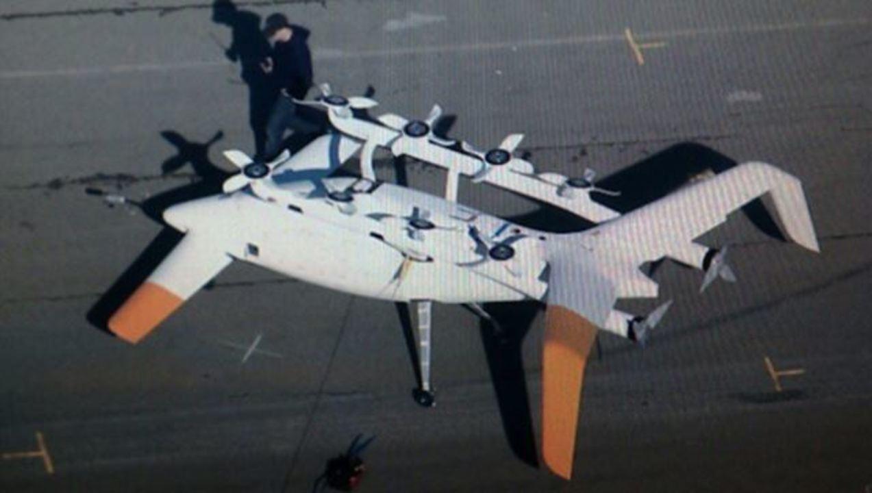 なんですかこれ? グーグル本社隣の会社が作った謎の飛行物体