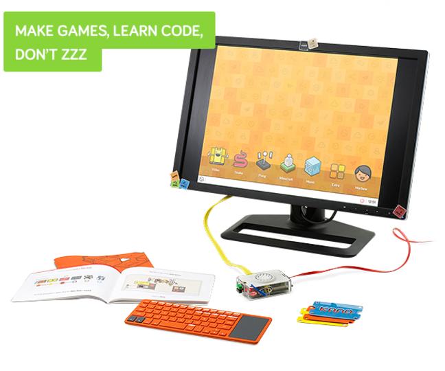 自分の手で組み立てる! DIYのかわいいコンピューターキット「Kano」