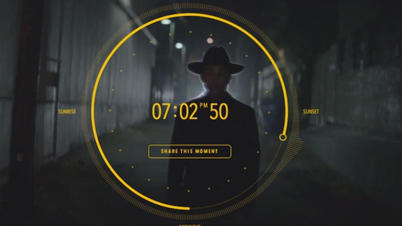 世界初! ファレルが24時間ループのミュージックビデオ「Happy」公開