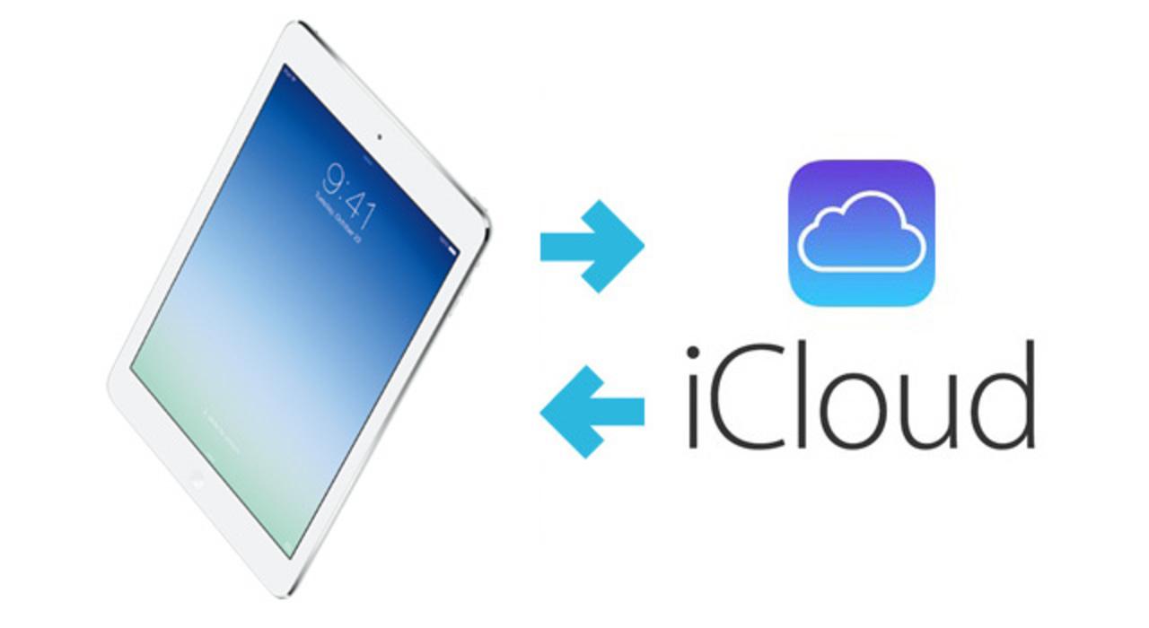 iCloudを使って昔のiPadのデータをiPad Airに復元する