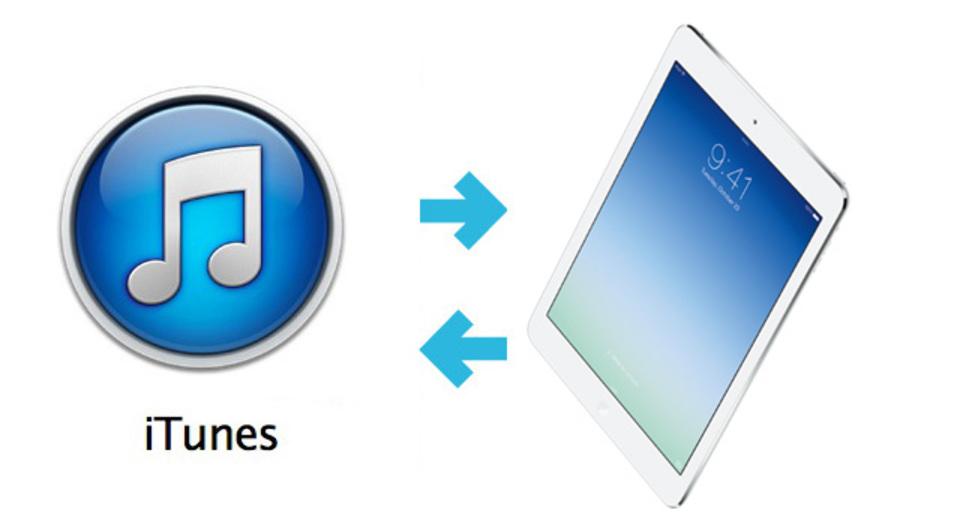 iTunesを使って昔のiPadのデータをiPad Airに復元する