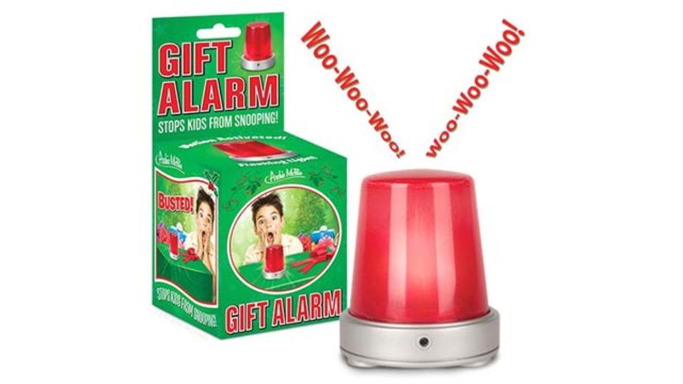 クリスマス前に必須、当日までプレゼントを隠し守りぬくアラーム