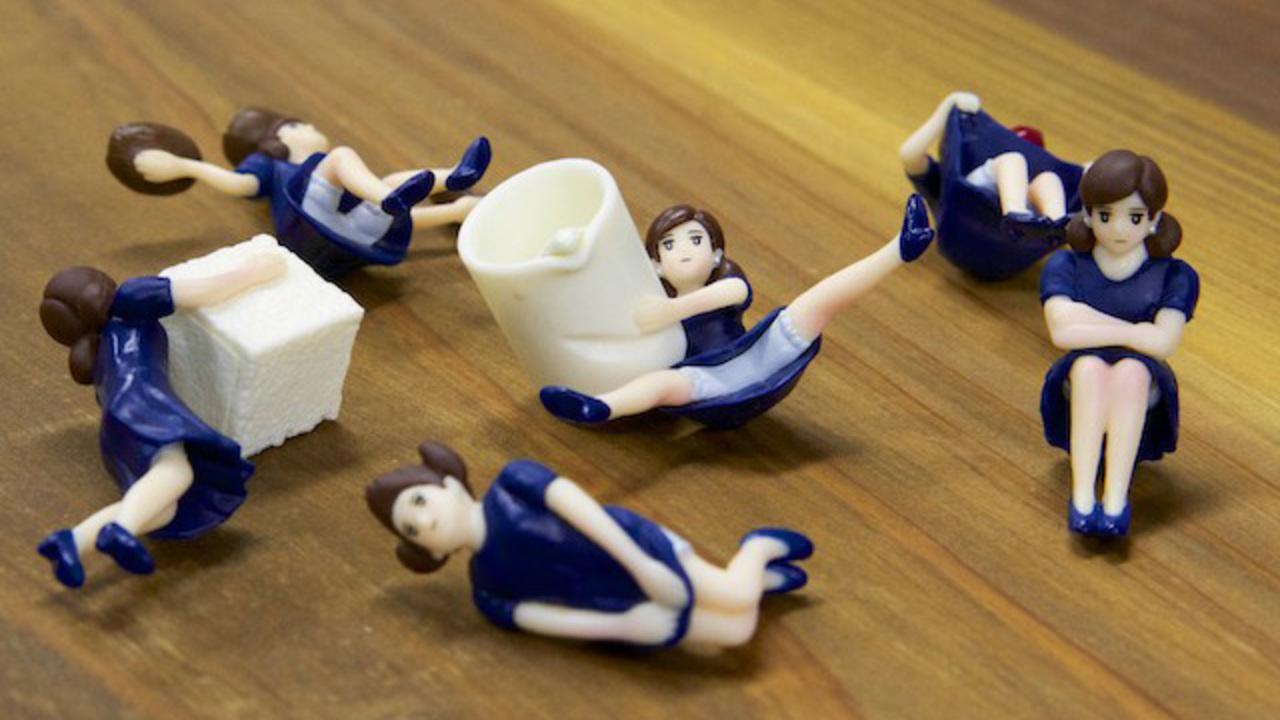 バランス良すぎでしょう…。ブレンディボトルコーヒー微糖キャンペーンにフチ子が就任!?