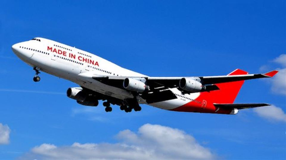 中国がボーイング747をコピーしているようです