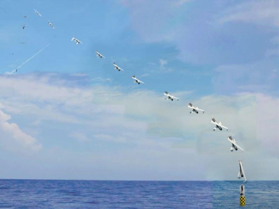 トビウオと思ったらドローン。米、海中潜水艦からドローン発艦に成功