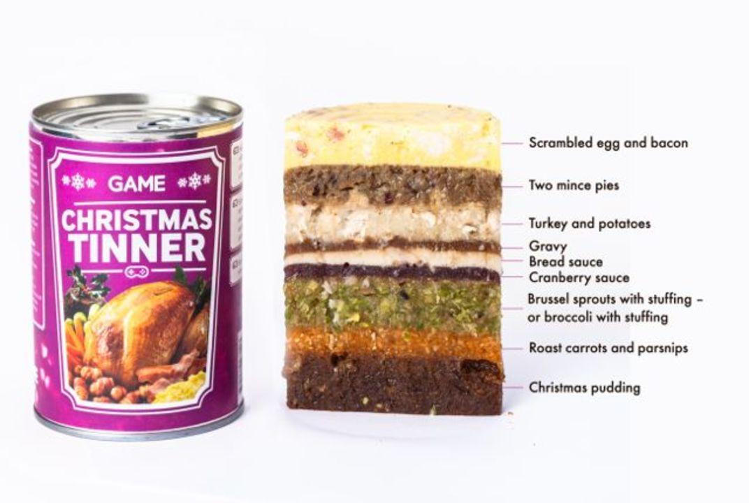 クリスマス・ディナーがまるごと入った「ディナー缶」、これ…おいしいの?