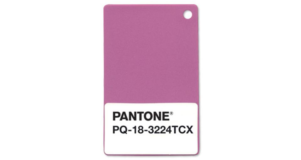 「ラディアント・オーキッド」って? パントンから2014年の色が発表