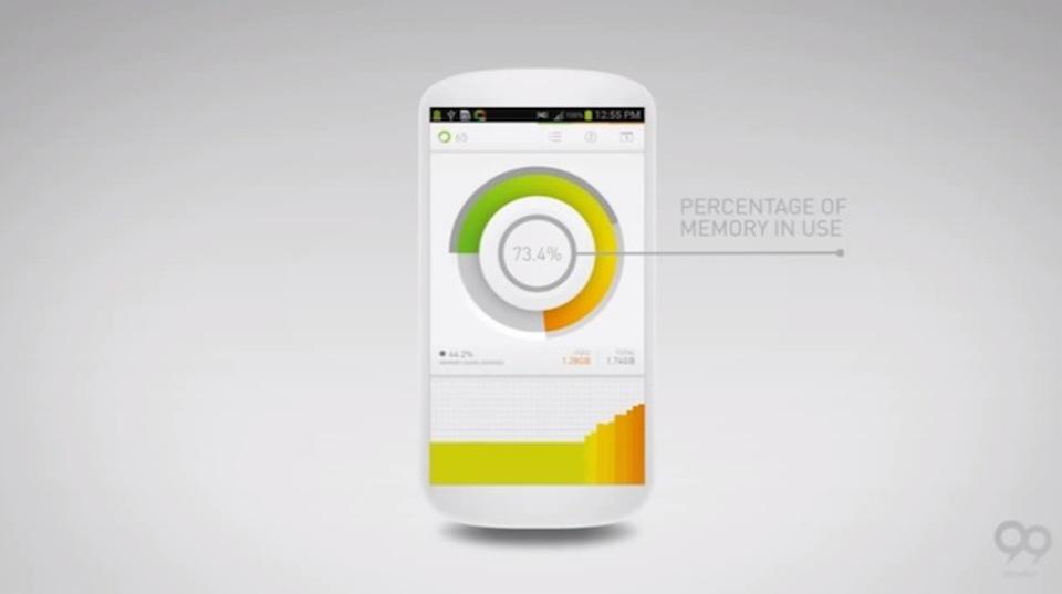 Androidのメモリ解放系アプリの悩みは、機能とデザインが両立した「Memory Reboot」で解決かも