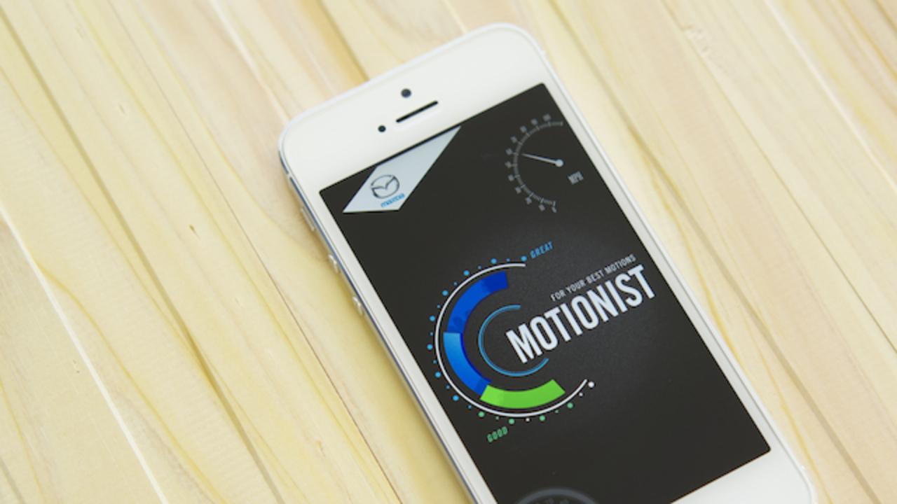 スマホだけでOK! 動きにこだわるマツダのアプリ「MOTIONIST」で身に付ける、質のいい歩き方!