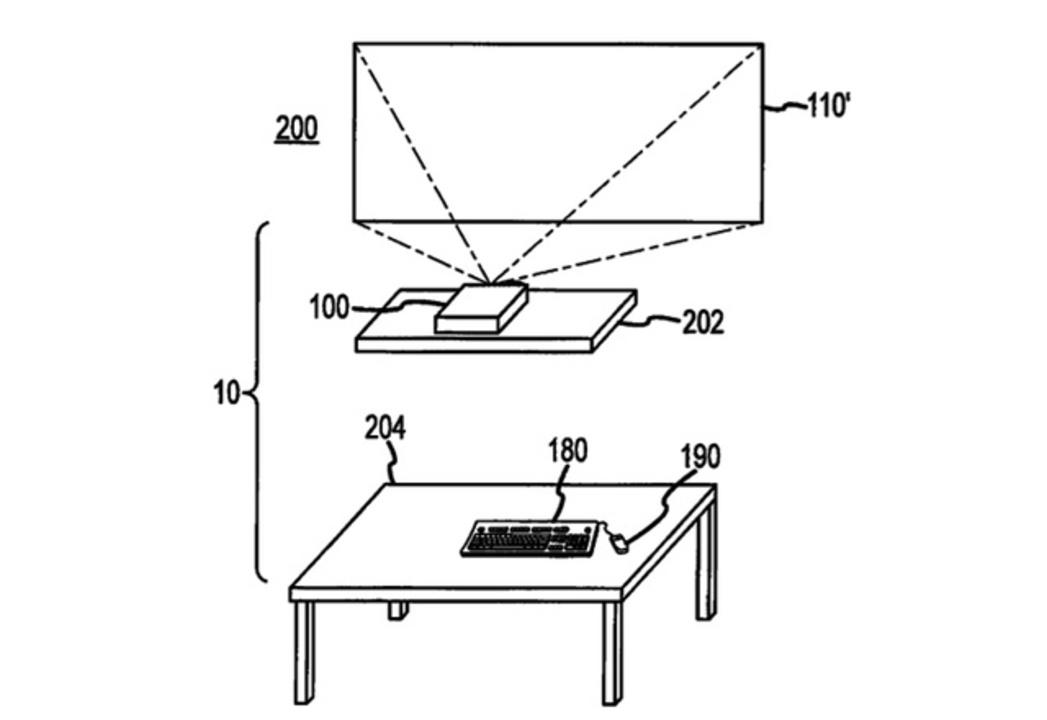 これ欲しい! アップル、机のいらない「プロジェクター内蔵コンピューター」の特許を取得
