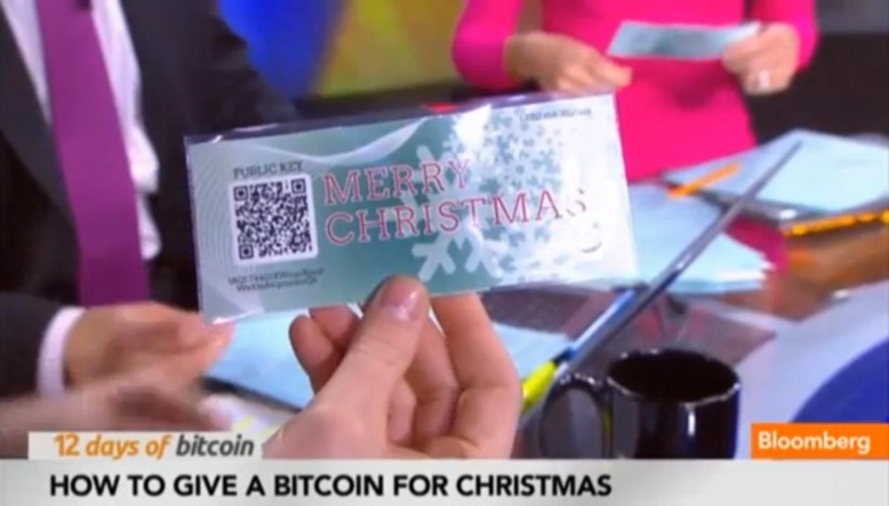 テレビでギフト用Bitcoinを見せたら、ソッコーで盗まれた