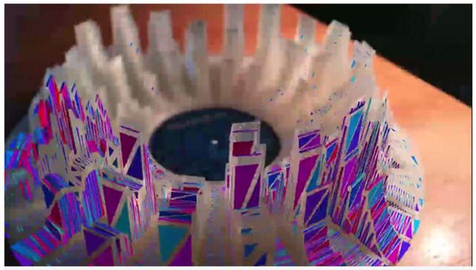 音楽を視覚化して「AR彫刻」を作ったら異常にクールだった(動画あり)