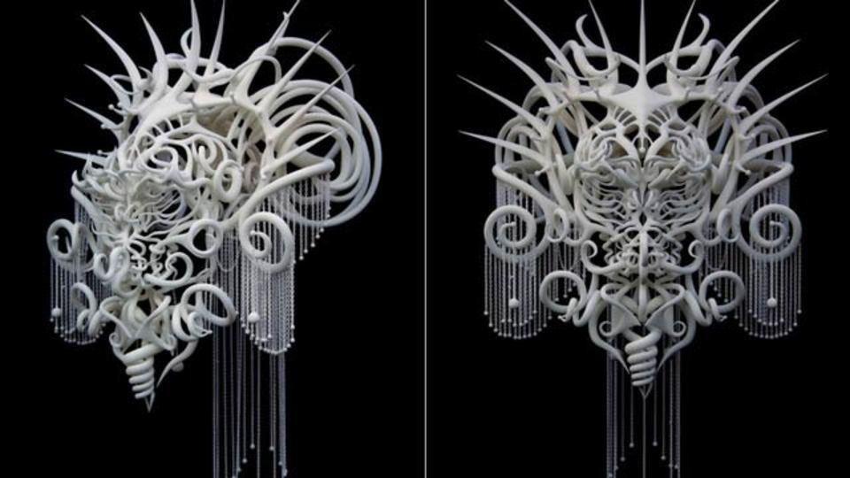 3Dプリントでできたマスク、今後のSF映画にますます期待がわく仕上がりに(ギャラリーあり)