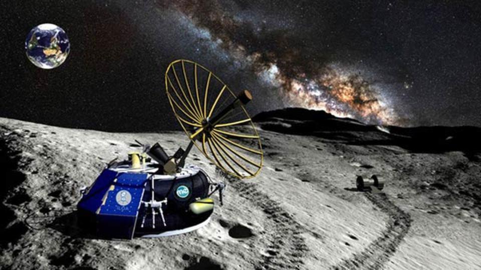 2015年、月にロボット宇宙船が着陸