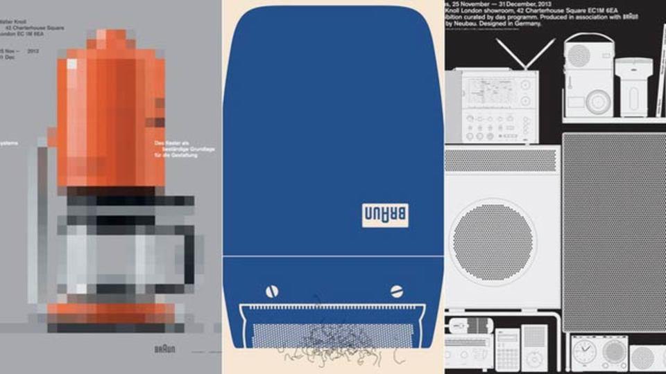 ディーター・ラムスのプロダクトに相応しいアートなポスター11枚(ギャラリーあり)