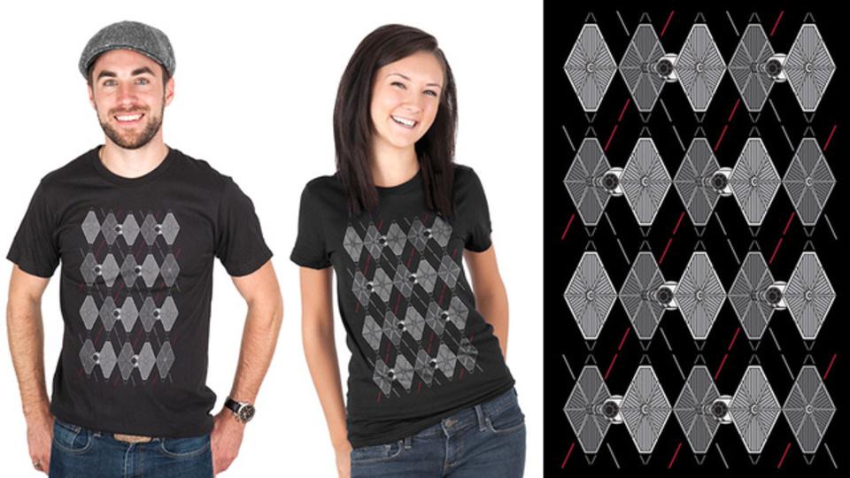 ヲタっぽくない! ちゃんとした感がイイね「Argyle Fighters」Tシャツ