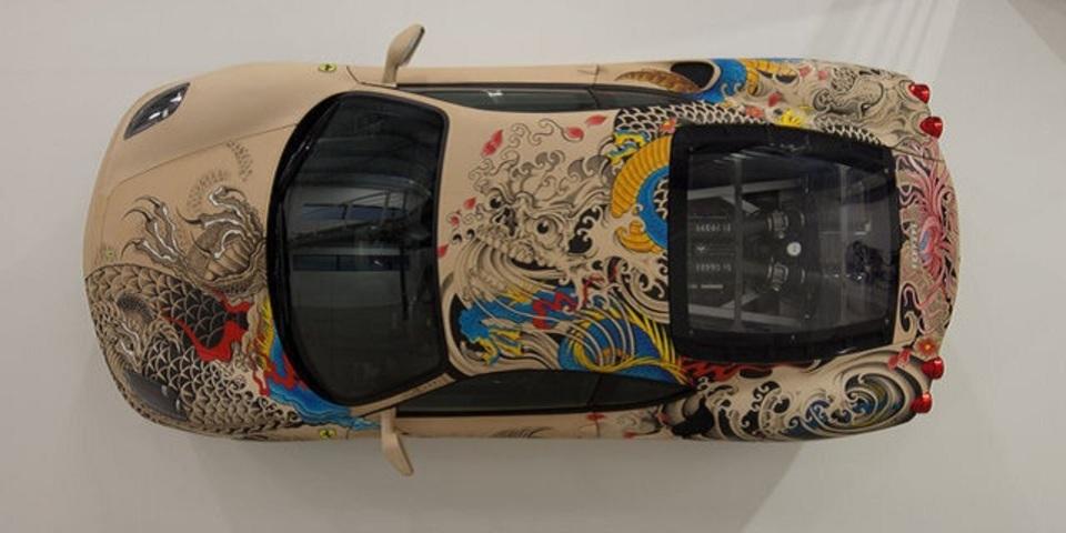 「刺青フェラーリ F430」がカッコイイけど、街で見かけたら逃げ出すレベル
