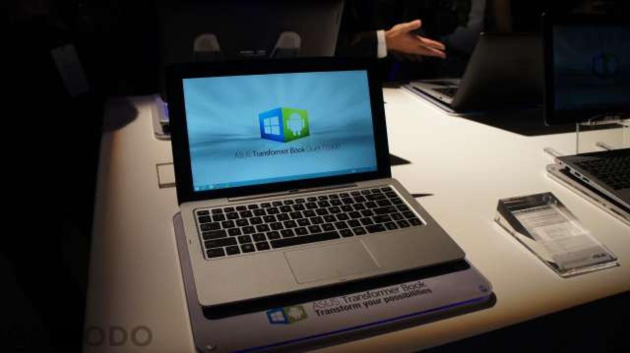 これ1台でパソコンもタブレットも安い…Windows 8.1にAndroid 4.2をデュアル搭載「ASUS Transformer」